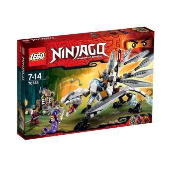 LEGO Titanium Dragon ตัวต่อเสริมทักษะ เลโก้ นินจาโก ไทเทเนียม ดรากอน - 70748
