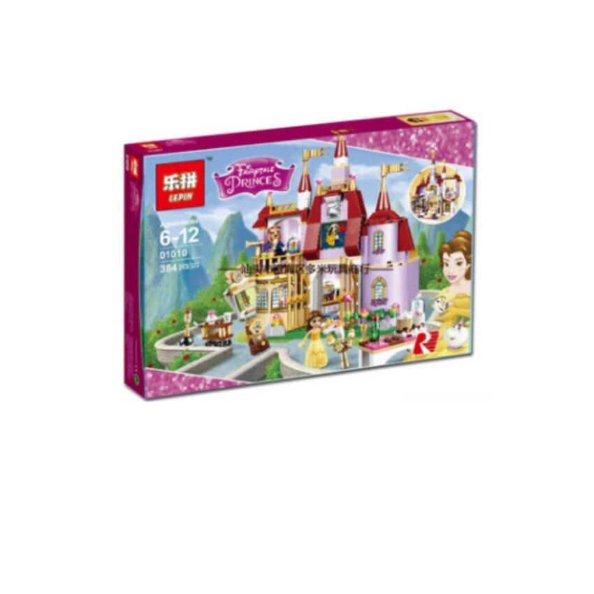 ตัวต่อ LEPIN ชุด Beauty & the beast Belle's enchanted castle set