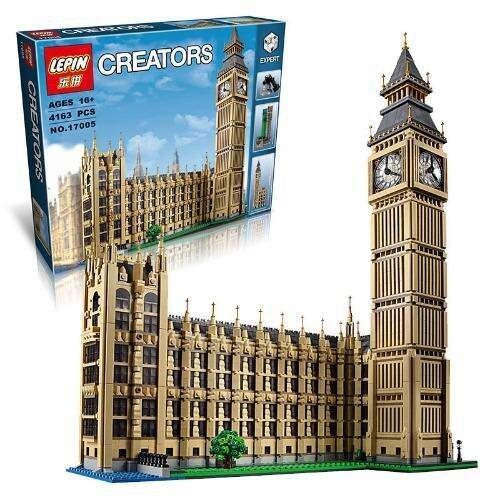 LEPIN Creators ตัวต่อชุดหอนาฬิกา Big Ben London 4,163 ชิ้น