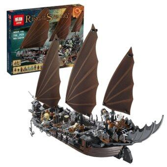 LEPIN The Lord of the Rings เรือโจรสลัด Pirate Ship Ambush