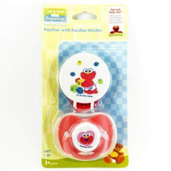 Litty Baby Pacifier with Pacifier Holder จุกนมหลอก (Red)