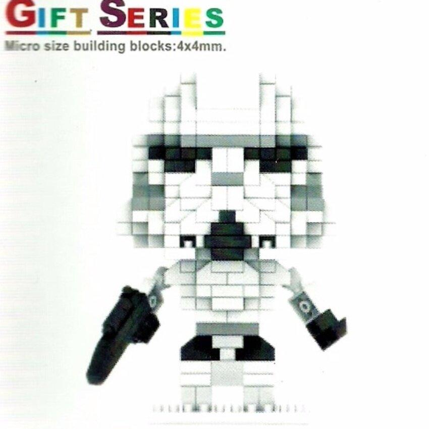 ตัวต่อ LNO LEGO เลโก้ นาโน ไมโคร บล็อก สตอร์มทรูปเปอร์ สตาร์ วอร์ส Stormtrooper Star Wars - ของขวัญ จับฉลาก ปีใหม่