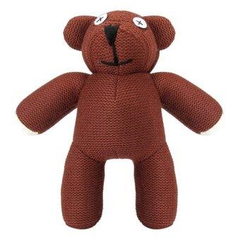 Lovely 22cm Mr Bean Teddy Bear Plush Doll Pendant Small Stuffed Toy Birthday Gift - Brow ...