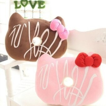 Lovely Hellokitty Plush Toy Creative Plush Pillow Donut Cushion Office Nap Cushion Sofa & Bed Cushion - intl
