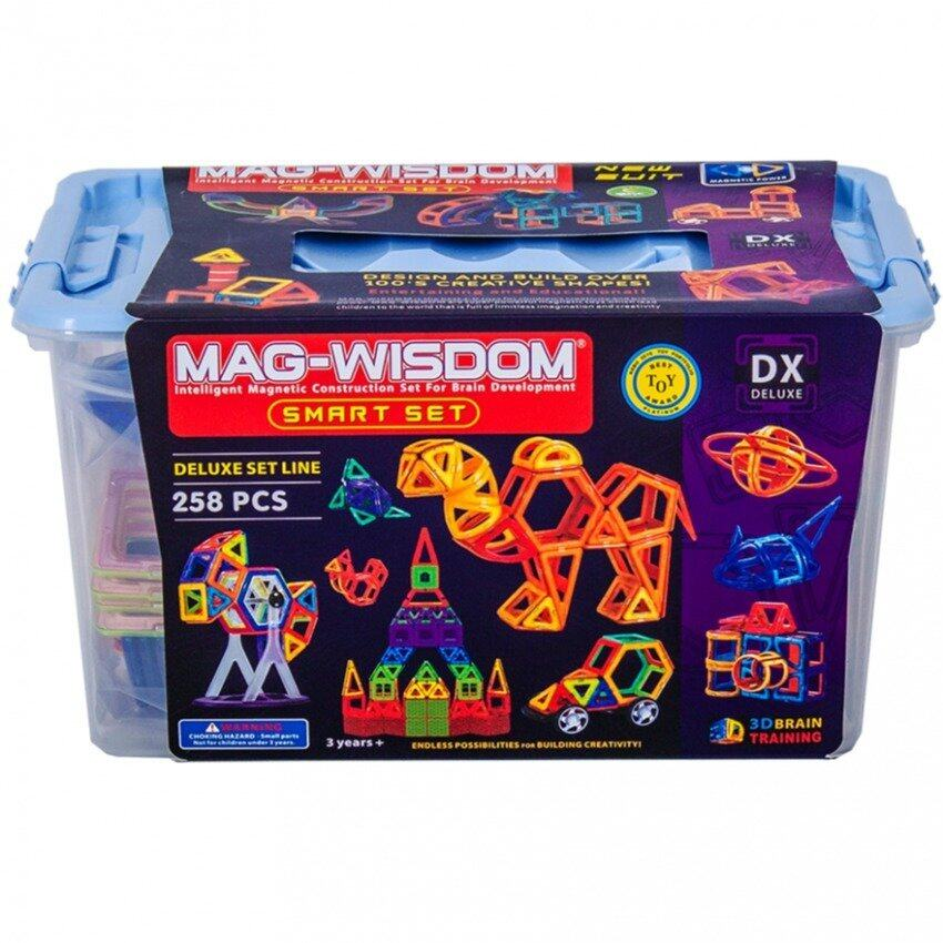 Mag Wisdom ตัวต่อแม่เหล็ก MAG WISDOM ขนาด 258 ชิ้น