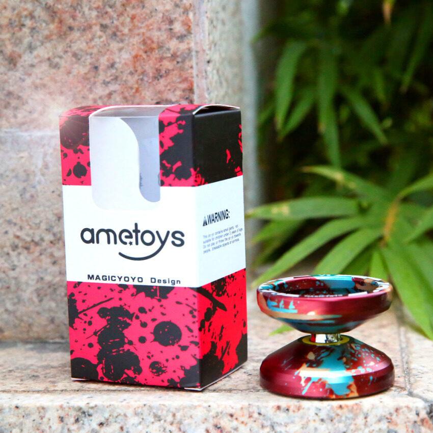 Magic Yoyo V3 Unresponsive High-speed Aluminum Alloy Yo-yo CNC lathe for Boys Girls Children Kids - intl