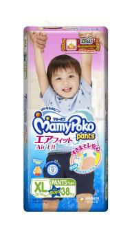 Mamy poko Pants Airfit XL 38 ชิ้น (สำหรับเด็กชาย)