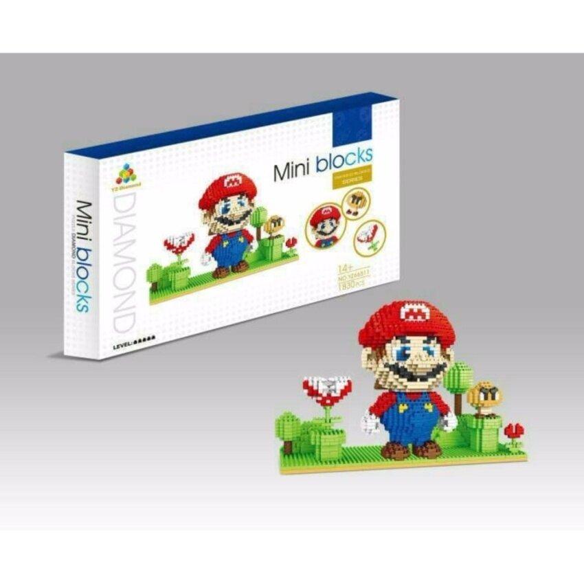 ตัวต่อ Mario ชุดใหญ่ จำนวน 1830 ชิ้น