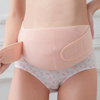 Maternity Back Support Belt Pregnancy Tummy Belly Brace (Nude L) -intl