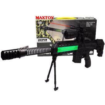 MAX TOY ของเล่น ปืนเยาวด็กเล่น มีเสียงมีไฟ 7278-6
