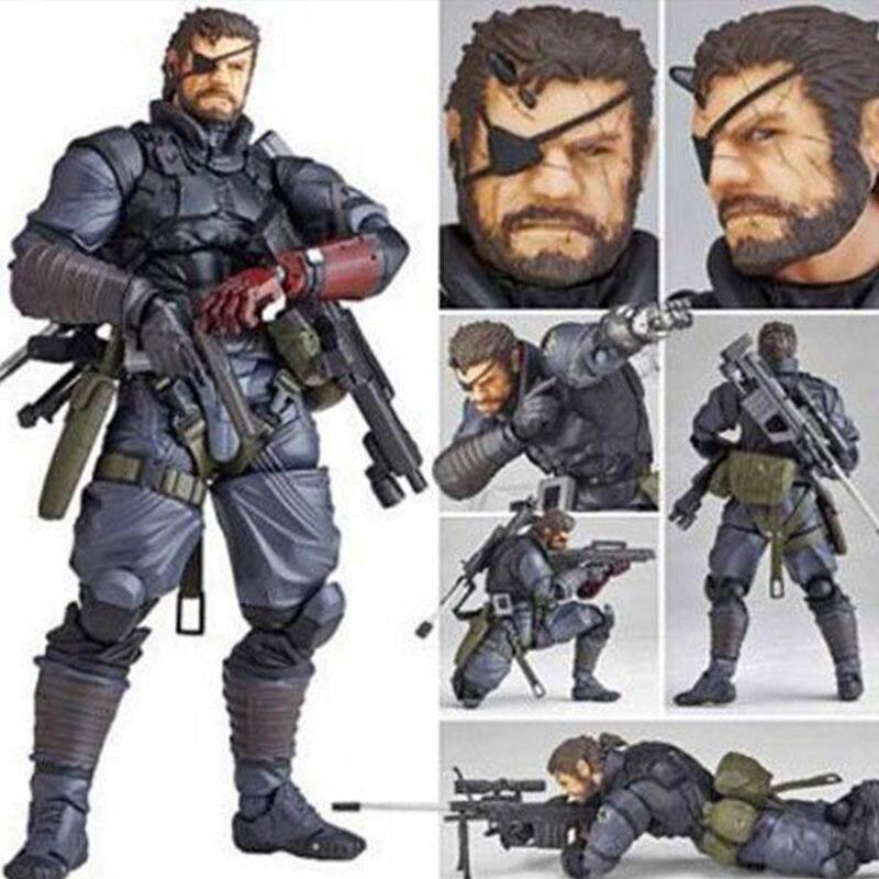 Metal Gear Solid Venom Snake Action Figure Toy Gift Model Dolls Models Toys - intl