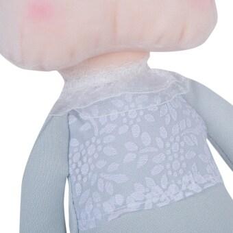 Metooการ์ตูนน่ารักออกแบบตุ๊กตาสัตว์ยัดไส้ตุ๊กตาผ้าพลัฌเด็กสำหรับเด็กของขวัญวันคริสต์มาส/(สีเทา)