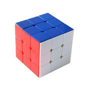 Mind Logic Game Magic Puzzle Rubik Cube Twist Toy Speed CubeStickerless 3x3x3 C - intl