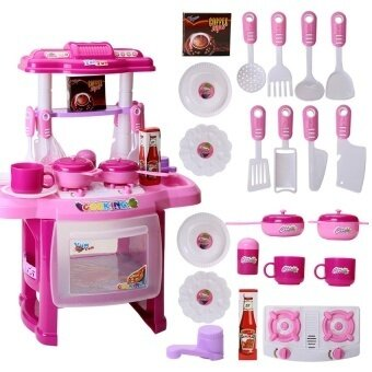 Mini Plastic Classic Pretend Play Kitchen Cooking Toys Simulationkids Small Toy House Kitchen Toys For Childrenuff08pinkuff09 - intl