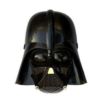 Mirage-Shop หน้ากากจากภาพยนต์ STARWAR ตัวละคร Darth Vader - สีดำ