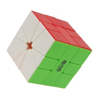 Mo Fang Ge Square-1 Stickerless Magic cube Qiyi SQ-1 Speed CubePuzzle cubo magico kub Toys Gift - intl