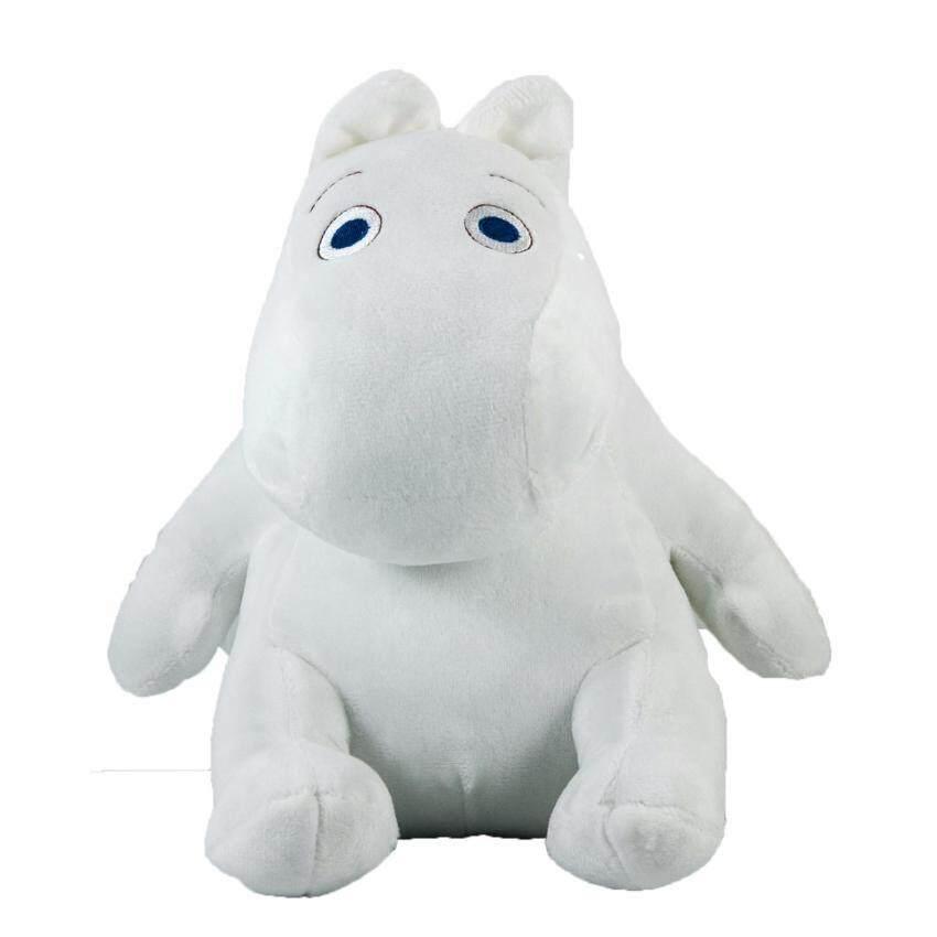 ตุ๊กตามูมิน ฮิปโป (Moomin) Size S ท่านั่ง (สีขาว)
