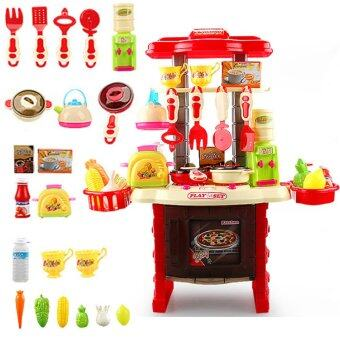 Morestech ชุดครัว อุปกรณ์ครบชุด ZD588-7 (สีแดง) (image 0)