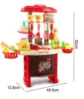 Morestech ชุดครัว อุปกรณ์ครบชุด ZD588-7 (สีแดง) (image 2)
