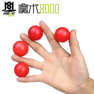 Moshu8000 สี่ตัวแปรตัวแปรมายากลบอลเล่นกลลูก