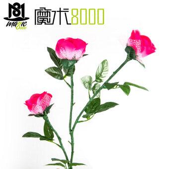 Moshu8000 ไส้ตะเกียงกุหลาบกุหลาบดอกไม้