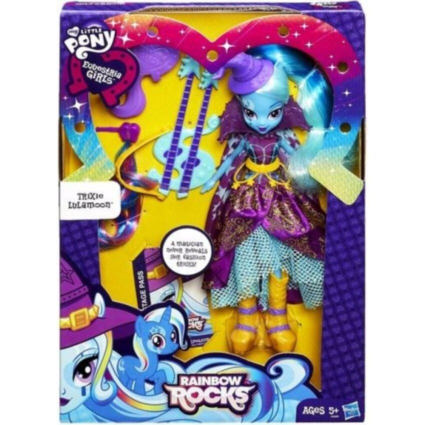 My Little Pony Equestria Girls Trixie Lulamoon Doll