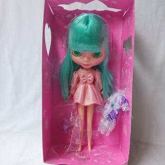 Nana Trendy ตุ๊กตา Basaakตาโตดึงแล้วเปลี่ยนสีตาได้ 4 สี