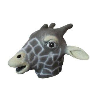 Natural Rubber Giraffe Head Party Halloween Masquerademasks - intl