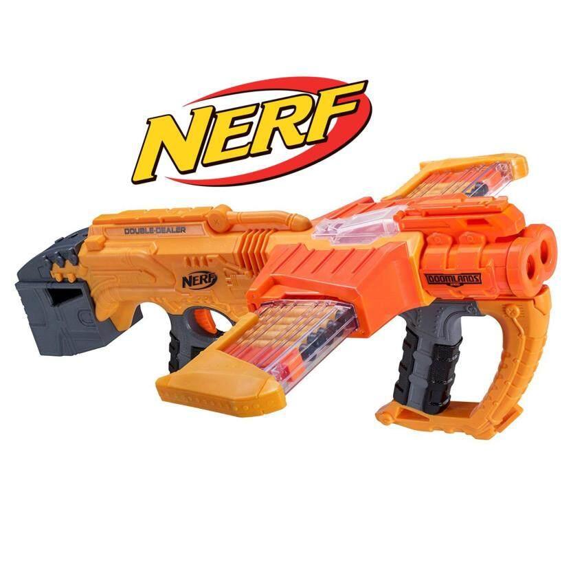 Nerf Doomlands Double Dealer Blaster ปืนเนิร์ฟ  ลิขสิทธิ์แท้ ปืนของเล่นขายดีอันดับหนึ่ง