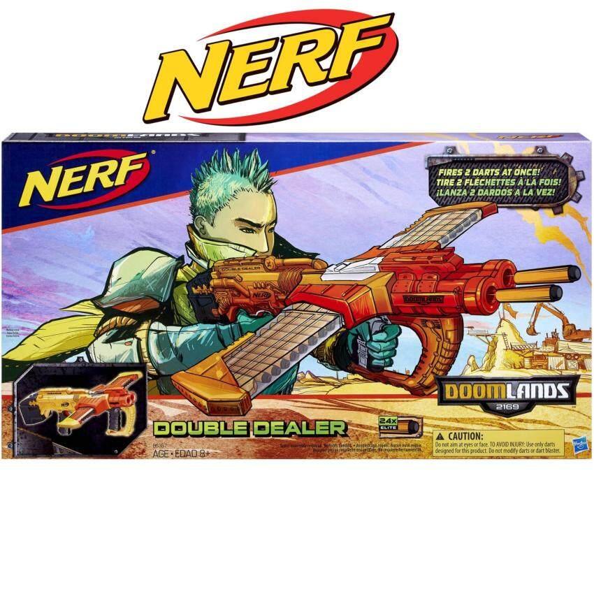 ปืนของเล่นเสริมทักษะ Nerf Doomlands Double Dealer Blaster