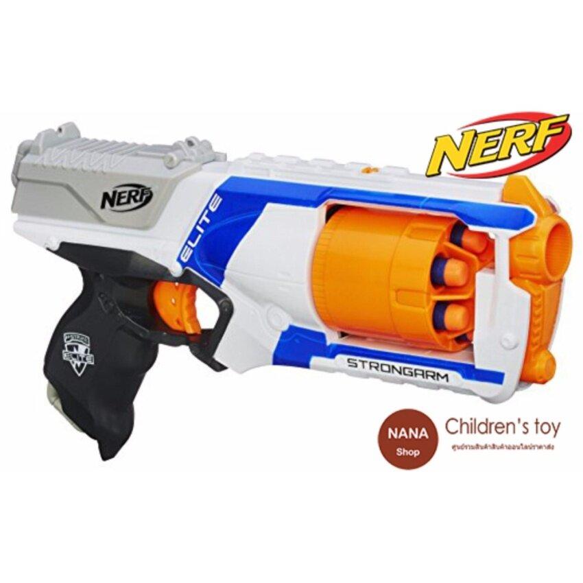 Nerf N-Strike Elite Strongarm Blaster (ปืนเนิร์ฟ) ปืนของเล่นกระสุนยาง ลูกโม่