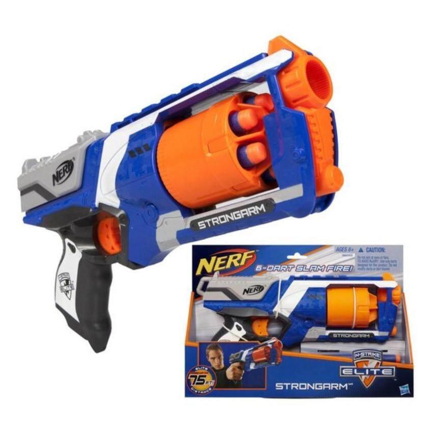 ปืนของเล่นกระสุนยาง ลูกโม่ Nerf N-Strike Elite Strongarm Blaster (ปืนเนิร์ฟ) image