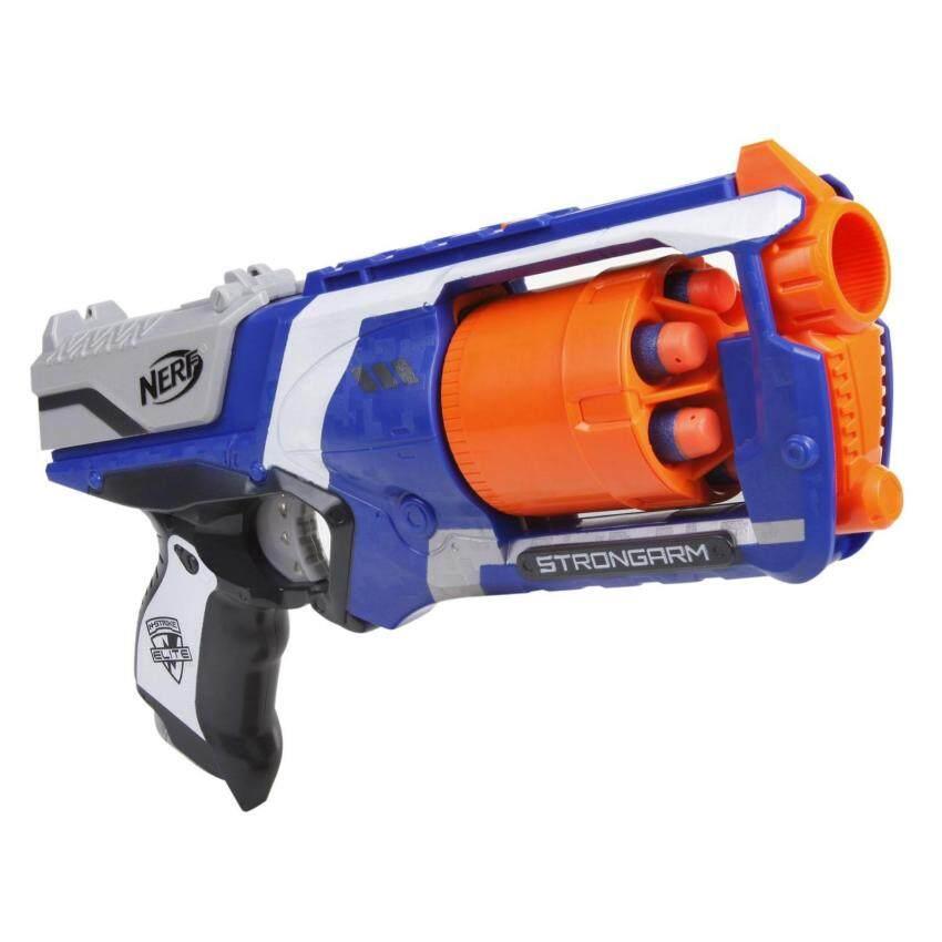 ปืนของเล่นที่สนุกอันดับหนึ่ง Nerf N-Strike Elite Strongarm Blaster (ปืนเนิร์ฟ)