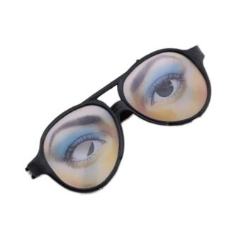 New Arrival Halloween Party Funny Glasses Novelty Prank Eye Ball Joke Toys - intl