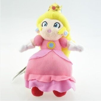 New Nintendo Super Mario Bros Plush Toys 8\ 20cm Pink Princess Peach Plush Doll Soft Stuffed Toys for Girl Xmas Gifts With Tag - intl