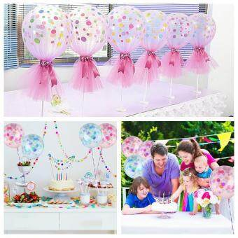 niceEshop 12 Inches Colorful Confetti Balloons For Party CeremonyCelebration Decorations - intl