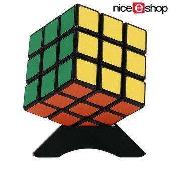 niceEshop พีวีซีสติกเกอร์รูปความเร็ว 6 สี Stickerless Rubik Cube (5.7 x 5.7ซม. หลายสี)