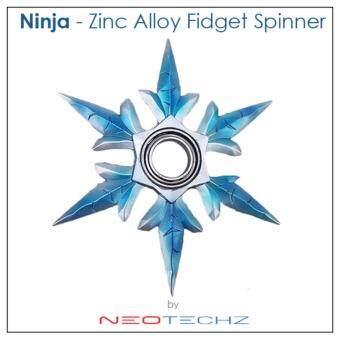 Ninja Zinc Alloy Foldable Hand Spinner Fidget Spinner Gadgets EDC Focus Stress Gadgets