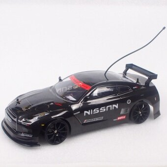 รถบังคับดริฟ NISSAN GTR 1/10 ยี่ห้อ XDRIFT ความเร็สูงสุด40 กิโลเมตร/ชั่วโมง (RTR)