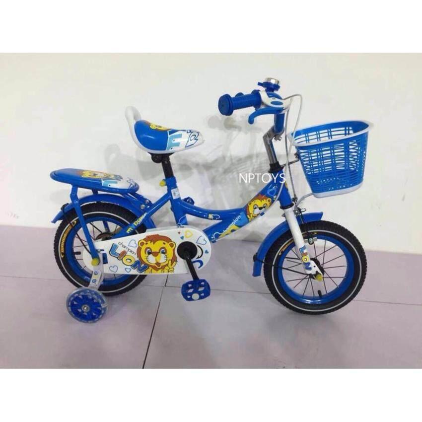 Np Toys รถจักรยานเด็ก จักรยานเด็กLion-12 มีล้อประคองหลัง No.5510