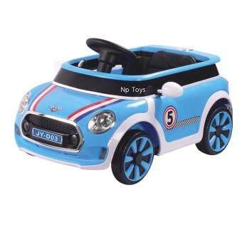 Np Toys รถแบตเตอรี่เด็ก รถเด็กนั่ง มินิ บังคับวิทยุด้วยรีโมทและขับธรรมดาNo.LND03