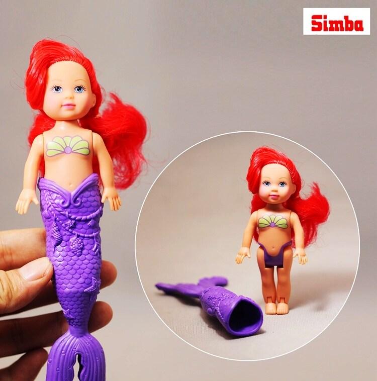 Ocean เจ้าหญิงที่มีปลาการ์ตูนตุ๊กตา