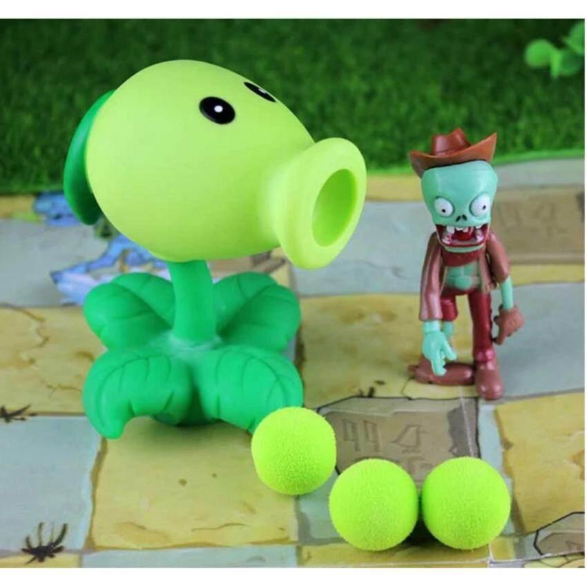 ONE TOYS PVZ ของเล่นตุ๊กตาดอกไม้ยิงซอมบี้