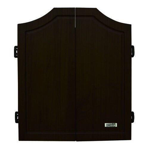 One80 Darts Solid Wood Dart Cabinet Black