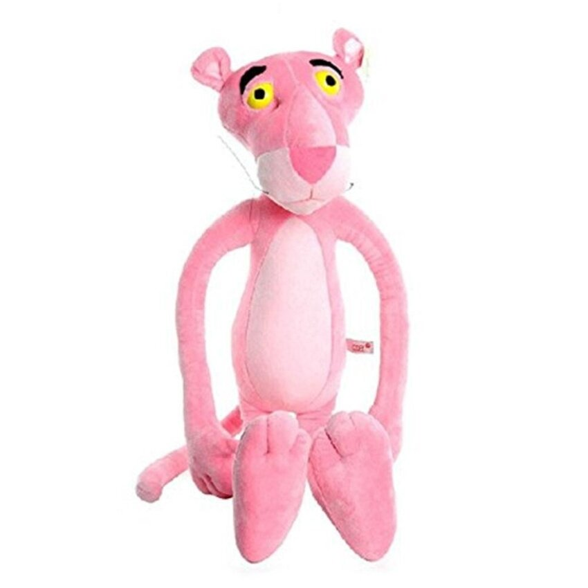 ooplm 40CM Pink Child Plaything Gift Naughty Panther Stuffed Toy Plush Doll - intl