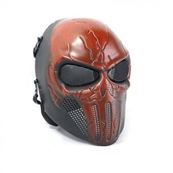 Outdoor Cs Game Mask Scary Ghost Skull Mask For Halloween Cosplay - intl