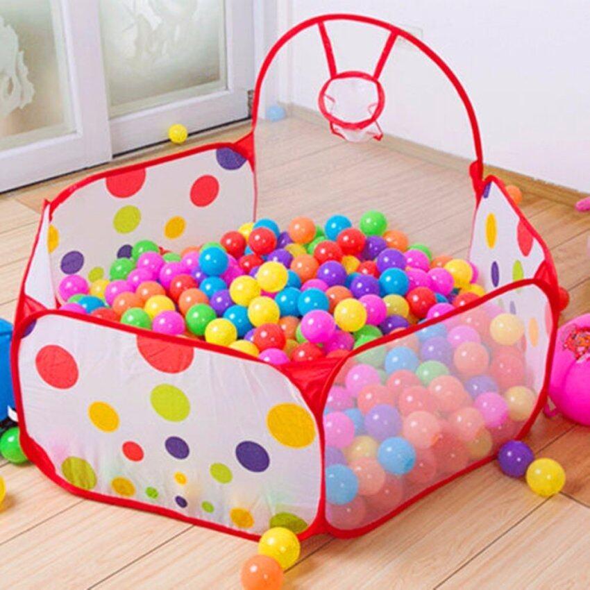 Outdoor/Indoor Foldable Kids Children Game Tent Portable Ocean Ball Pit Pool Toy - Intl