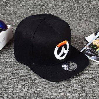 Overwatch Mens Snapback Cap Caps Hats Adjustable Baseball CapHip-hop Hat - intl