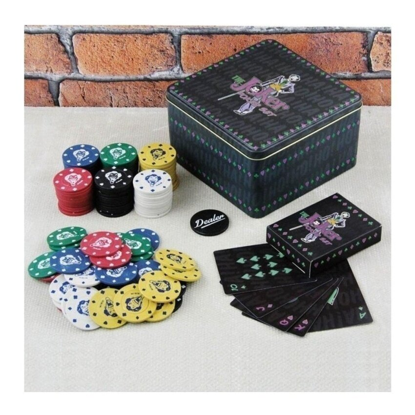 Paladone DC Comics The Joker Poker Set - intl