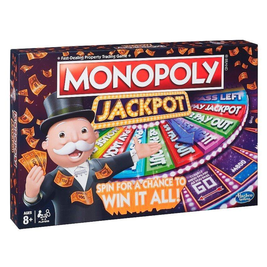 PARKER BROTHERS MONOPOLY JACKPOT image